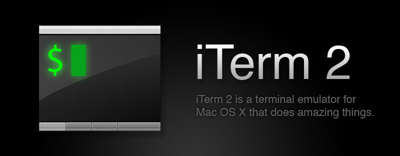 iTerm2 with Oh-My-Zsh for a better development environment