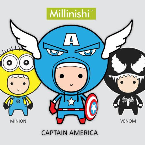 Millinishi Character Design