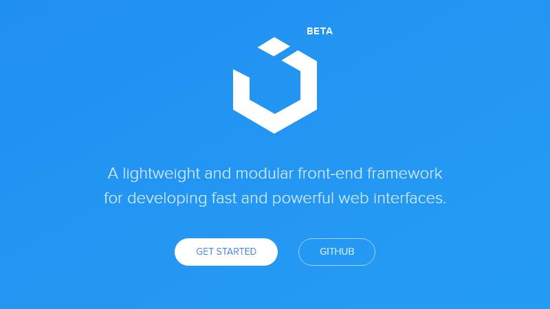 UIkit Front-end Framework