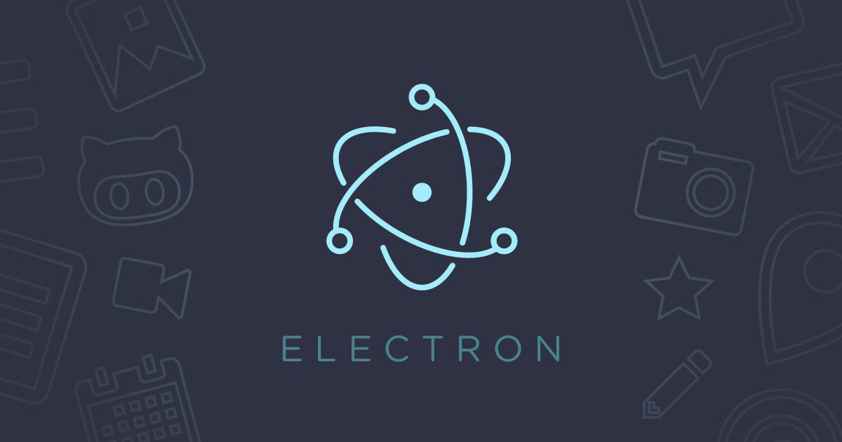 ElectronJs – Creating your first Cross-Platform Desktop App