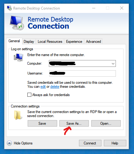 Remote Desktop use 2 out of 4 monitors